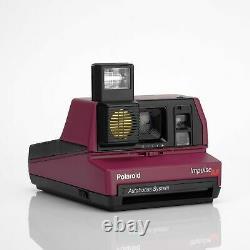 Polaroid 600 Impulse Autofocus Burgundy Instant Film Camera