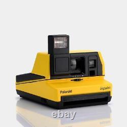 Polaroid 600 Impulse Yellow Instant Film Camera