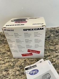Polaroid 600 Instant Camera Spice Girls With Box Plus Polaroid Spice Girls Shirt