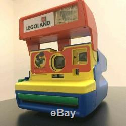 Polaroid 600 LEGOLAND LEGO Instant Camera Vintage 1999 Rare Japan Excellent