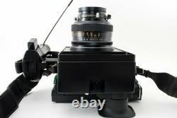 Polaroid 600 SE Camera + Mamiya 127mm f4.7 Lens From Japan Exc++++