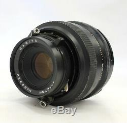 Polaroid 600 SE Instant Camera with Mamiya 127mm F/4.7 & Polaroid Back from Japan