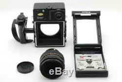 Polaroid 600 SE Instant Film Camera withMamiya 127mm f/4.7 From Japan #1049
