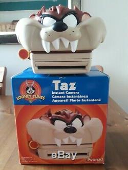 Polaroid 600 Taz Looney Tunes Camera with brand-new 600 film TESTED AND VGC