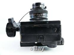 Polaroid 600se Medium Format Rangefinder Camera With Mamiya Press 127mm Lens