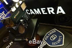 Polaroid 660 600 SuperColor Elite Transparent Super Rare Mint Museum Piece