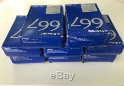 Polaroid 667 Black & White Instant Film. 8 Packs (20 photos per pack)