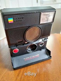Polaroid 680 SLR Instant Film Camera with 600 Film Pack TESTED