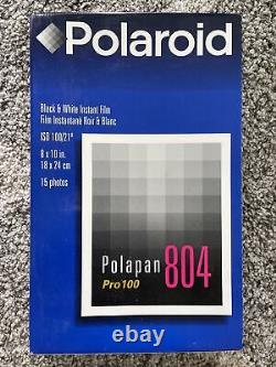 Polaroid 804 8x10 Instant Film Sealed
