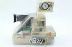 Polaroid AUTOFOCUS 660 Land Camera Clear Transparent Body Demo Unit Rare (Read)