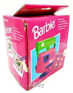 Polaroid Barbie Sofortbildkamera Instant Camera 600 Getestet Fotoapparat in OVP