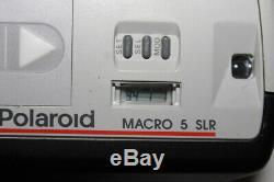 Polaroid Camera MACRO 5 SLR excellent spectra poloroid dermatology D#19