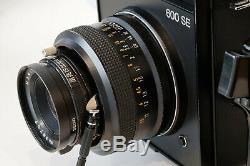 Polaroid Kamera 600 SE 127mm Objektiv f4,7+Mamiya 6x9 120 220 Roll Film Holder