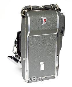 Polaroid Land Camera 110A with Rodenstock Ysarex 4.7/127mm No. 4449561