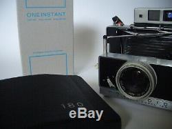 Polaroid Land Camera Model 180 + ONE INSTANT Packfilm TYPE 100 / Kamera 190 195