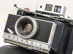 Polaroid Land Camera Model 180 ft. Tomioka Tominon 14.5 114mm Lens EXC+