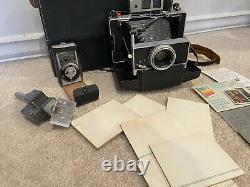 Polaroid Land Camera Model 180 withTominon 114mm f4.5 Lens