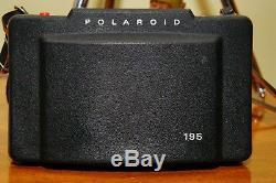 Polaroid Land Camera Model 195 with Tominon 114mm f/3.8 lens