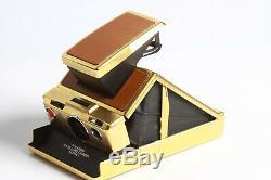 Polaroid Land Camera SX-70 Alpha 1 GOLD Limited Edition Mildred Scheel