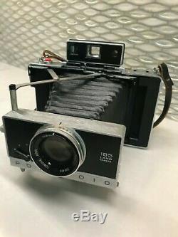 Polaroid Land Camera Vintage Model 195 Tominon 114mm F/3.8 Lens