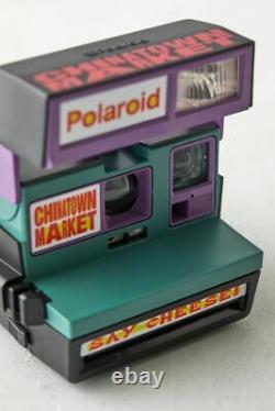 Polaroid Logo Multicolor Chinatown Market 600 Instant Camera NEW MINT