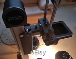 Polaroid MP4 Großformatkamera Large Format Reprostativ Umbau Sinar 13x18 möglich