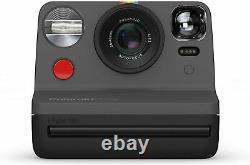 Polaroid Now iType Instant Camera Black Works with i-Type & 600 film