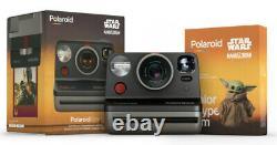 Polaroid Now i-Type Instant Camera & Film Star Wars The Mandalorian Edition