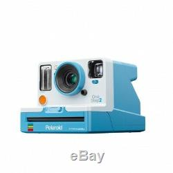 Polaroid OneStep 2 VF Instant Camera Summer Blue + Film + Photo Box