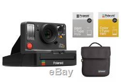 Polaroid OneStep 2 VF graphit Sofortbildkamera + Zubehörpaket 2 Filme + Tasche