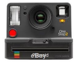 Polaroid OneStep 2 i-Type Kamera graphit + Zubehörpaket 2 Filme + Tasche