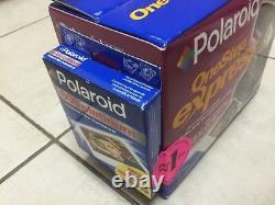 Polaroid OneStep Express Instant Film Camera New Bonus 600 Film DISCONTINUED