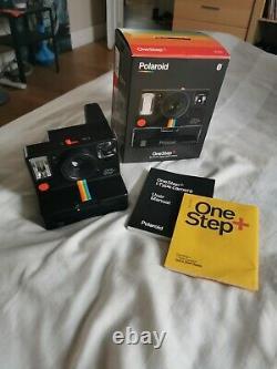 Polaroid OneStep Plus + Instant Camera black