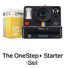 Polaroid OneStep plus i-Type Kamera 9010 incl. 2 Farbfilme + 1 S/W Film