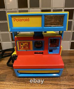 Polaroid Originals 4982-600 Instant Camera -Limited Edition MTV Stereo Edition