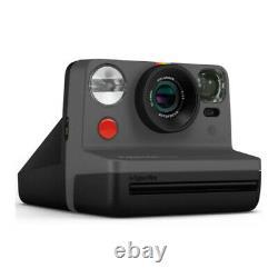 Polaroid Originals Now Viewfinder i-Type Instant Camera (Black) Film Bundle