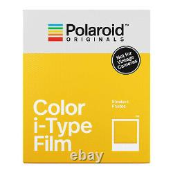 Polaroid Originals Now Viewfinder i-Type Instant Camera (Red) Film Bundle