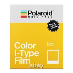 Polaroid Originals Now i-Type Instant Camera Black and Film Bundle