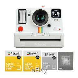 Polaroid Originals Onestep+ Instant Camera (White) 3-Pack Film & Photobox Bundle