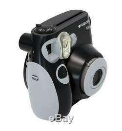 Polaroid PIC-300 Instant Analog Camera Black Pic 300 film Bundle Pack 50 Prints