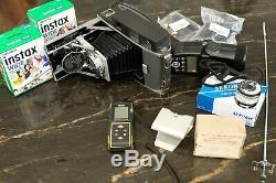 Polaroid Pathfinder Land Camera 110B Converted Fuji Instax Wide Studio Package