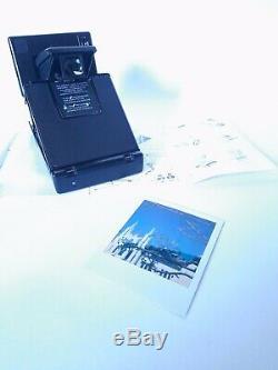 Polaroid SLR 680 Instant 600 Camera / Black Button / Sofortbild Kamera + Manual