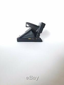 Polaroid SLR 680 Instant 600 Camera OVP Black Button / Sofortbild Kamera + Strap
