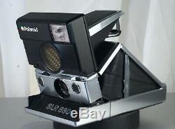 Polaroid SLR 680 Instant Film Camera SLR-680 SX-70 600 SX70 Film Silver Body