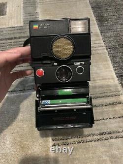 Polaroid SLR 680 Instant Film Camera Sonar Auto Focus Flash Vintage 80s
