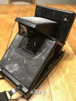 Polaroid SLR 680 SE AutoFocus Instant Camera-Film & Flash