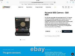 Polaroid SLR 680 SE AutoFocus Instant Camera-Film&Flash Tested-Great-Ships Now