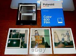 Polaroid SLR 680 SE Land Camera Auto Focus Special Edition Original Box Tested