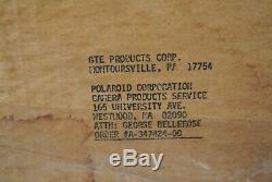 Polaroid SX70 Flashbar By GTE / Sylvania NEW Bulk Box, lot 209 SX-70 Flash bars