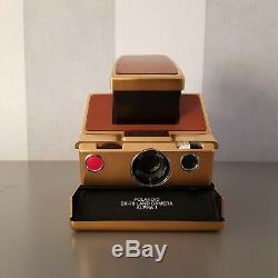 Polaroid SX70 Gold Nr 638 RARE
